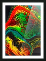 Cosmic Fusion Picture Frame print