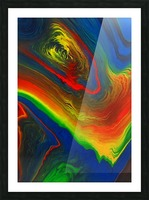 The Eye of a Storm Picture Frame print