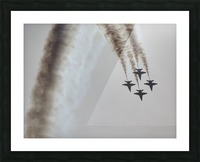 Flyovers Picture Frame print