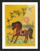 Vasnetsov horse Picture Frame print