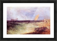 Outside of Ramsgate by Joseph Mallord Turner Picture Frame print