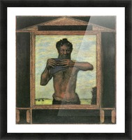 Pan by Franz von Stuck Picture Frame print