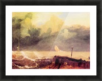 Port Ruysdael by Joseph Mallord Turner Picture Frame print