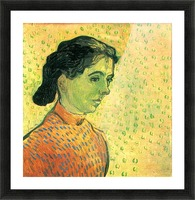 Portrait of a girl by Van Gogh Picture Frame print