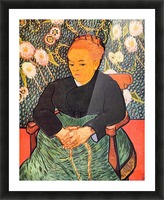 Portrait of Augustine Roulin (La Berceuse by Van Gogh Picture Frame print