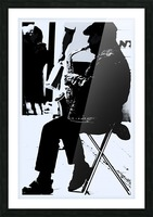Busker II Picture Frame print