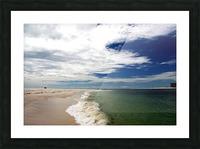 Shoreline Picture Frame print