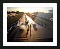 Dawn at the Drags Picture Frame print