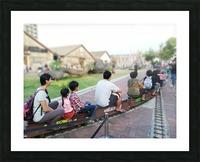 I find a unique train! Picture Frame print