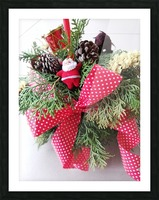 Merry Christmas Day Picture Frame print