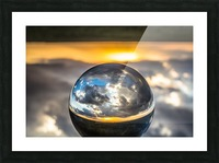Lens Ball7 Picture Frame print