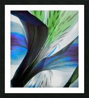 Vibrant Iris Picture Frame print