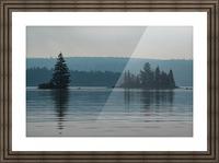 Cedar Lake Picture Frame print
