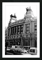 Calle de Alcalá  Madrid Picture Frame print
