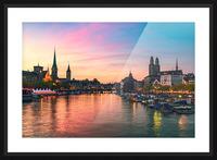 ZÜRICH 05 Picture Frame print