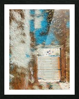 Outdoor II Picture Frame print