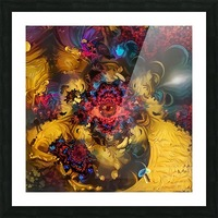 Colorful Fantasy Picture Frame print