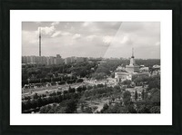 Moscow Air View I Picture Frame print