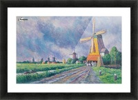 Outskirts of Rotterdam Picture Frame print