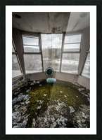 Abandoned Ski Resort Picture Frame print