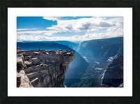 Top of Half Dome Picture Frame print