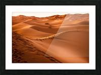 Beautiful Nature Landscape Hot Sun Desert Sahara Sand Dune Dunes Hot Climate Photography landscape photo Scenery Picture Frame print