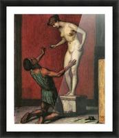 Pygmalion by Franz von Stuck Picture Frame print