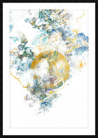 Natures Call - Abstract Painting III Picture Frame print