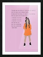 Jessie Reyez Picture Frame print