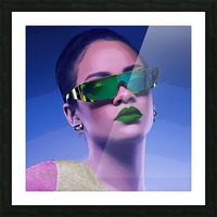 Rihanna Picture Frame print