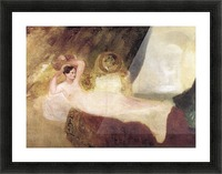 Reclining Venus by Joseph Mallord Turner Picture Frame print