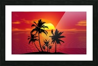 tropical 1651423 Picture Frame print
