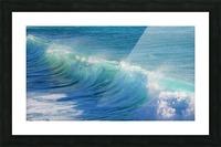surf, water, wave, sea, nature, turquoise, ocean, splash, seashore, panoramic, spray, foam, Picture Frame print