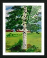 Kuopio Farmhouse Picture Frame print