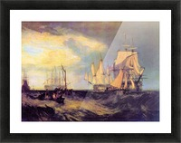 Recovering an anchor by Joseph Mallord Turner Picture Frame print
