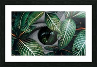 Tropical Reflection Picture Frame print