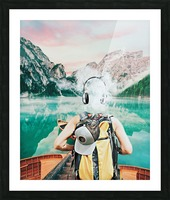 Traveling Tunes Picture Frame print