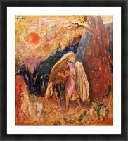 Jacob and the Angel Picture Frame print