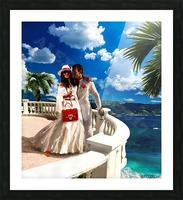 Napoletano russo Picture Frame print