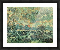 Remembering the north by Van Gogh Picture Frame print