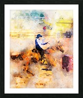 Rock Creek Rodeo Girl Picture Frame print