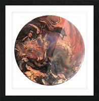 Lava Picture Frame print
