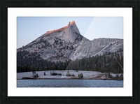 Cathedral Peak Yosemite National Park Picture Frame print