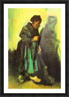 Return of the farmer by Van Gogh Picture Frame print
