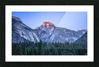 Half Dome Sunset Yosemite National Park Picture Frame print