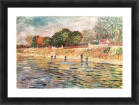 River bank by Van Gogh Picture Frame print