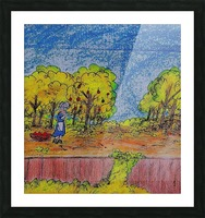 Apple Harvest Time Picture Frame print