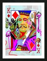 K of Dali Picture Frame print