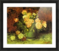 Roses by Van Gogh Picture Frame print
