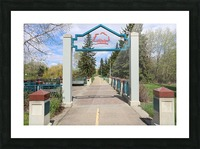 Red Willow Trail Picture Frame print